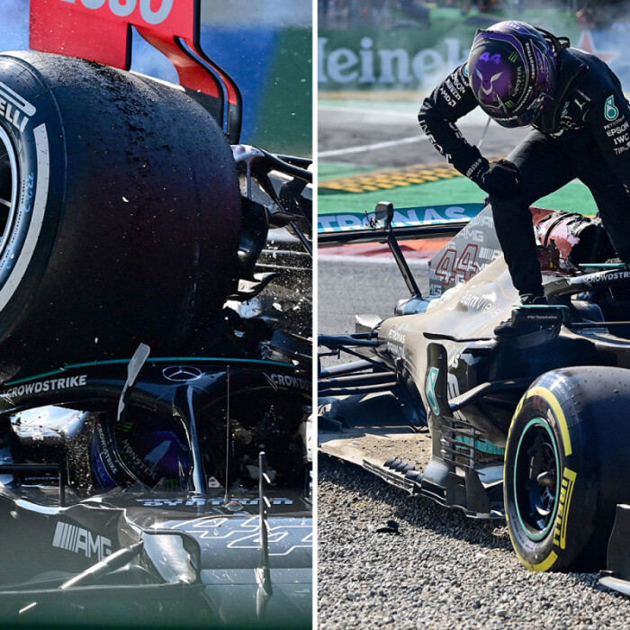 Lewis Hamilton considering clear-the-air talks with Verstappen as he jets out to New York after horror Italian GP crash
