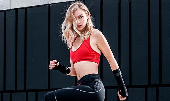 The coolest sports bra ever