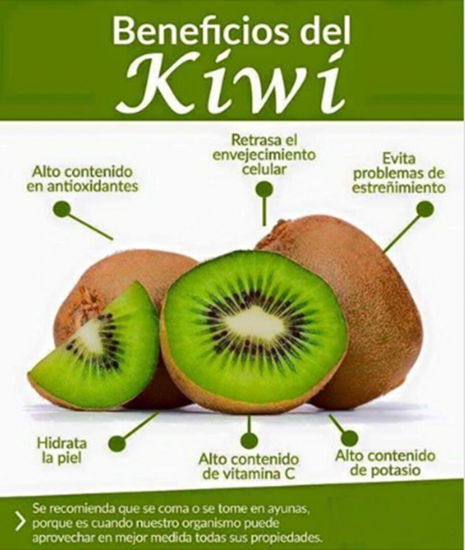 "Kíwí ""Beneficios"""