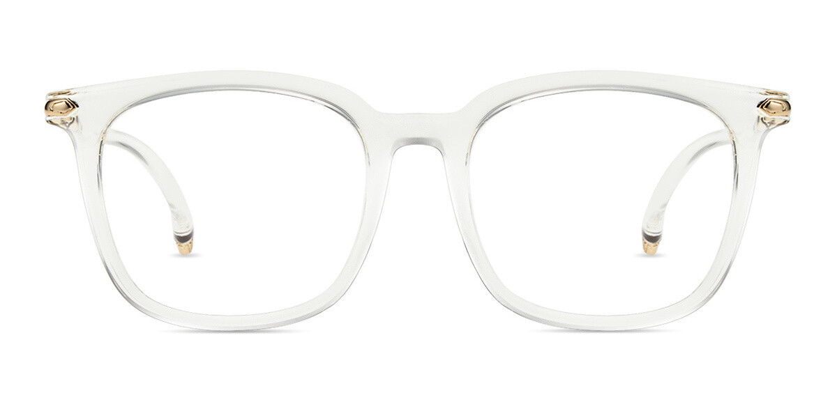 Hephaestus Clear Round Frame Eyeglasses