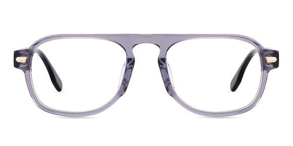 Slate Gray Eyeglasses Frames