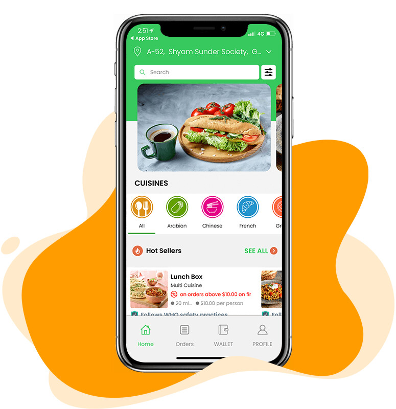 GrubHub Clone: White Label Food Delivery App