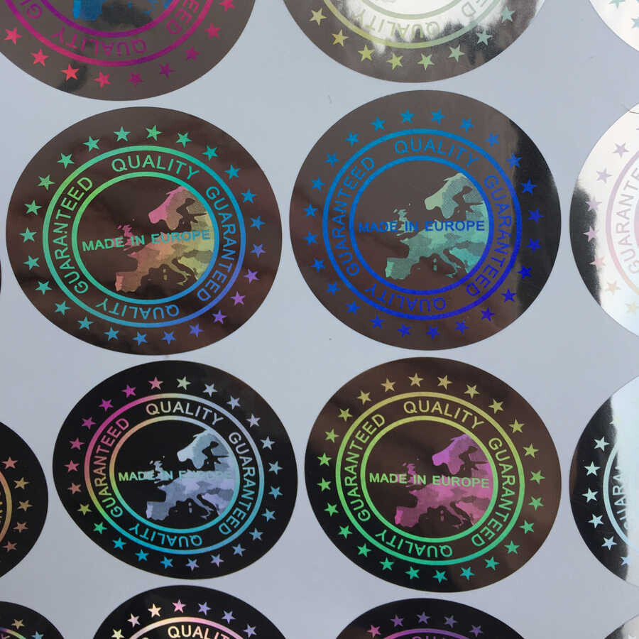 Establish Authenticated Brand Image With Custom Made Hologram Stickers
