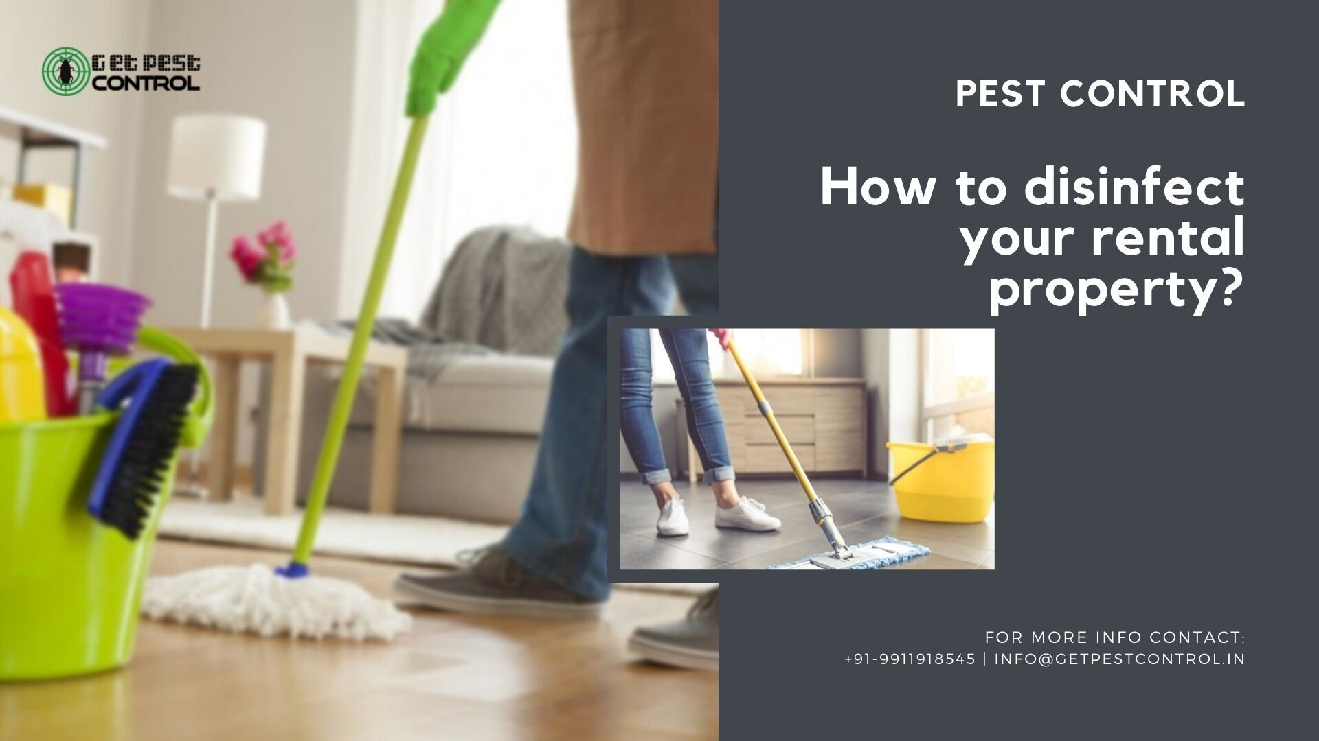 How to disinfect your rental property?