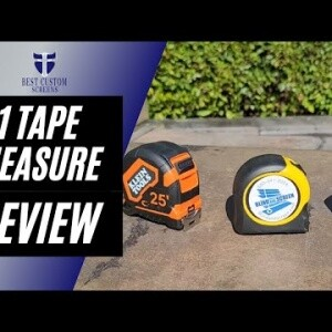 #1 Best Tape Measure Comparison - 25 Foot review. Which one is my new favorite?