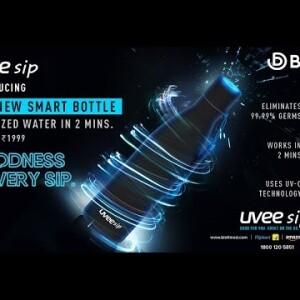 UVEE Sip Bottle   Self-cleaning Water Bottle   Biofi