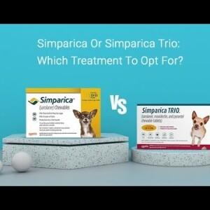 Simparica vs Simparica Trio