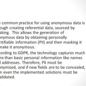 Synthetic Test Data Vs Masking