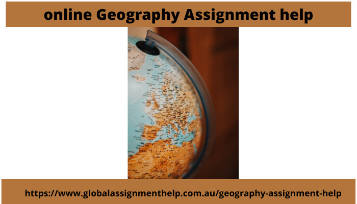 Online Geography Assignment Help