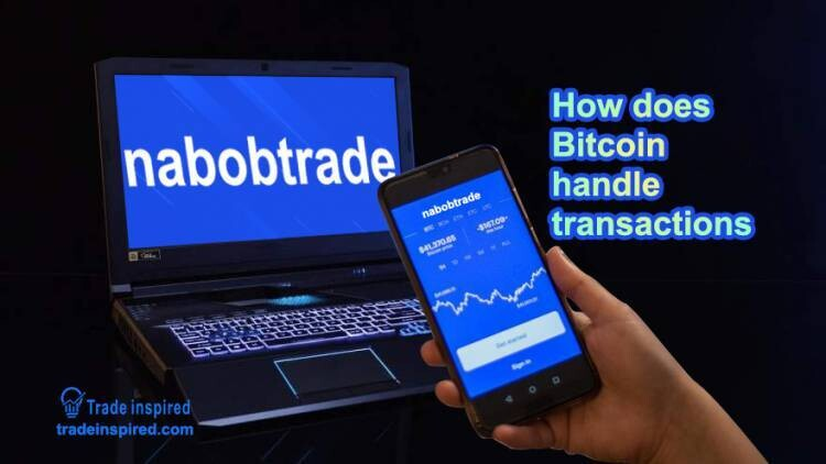How does Bitcoin handle transactions?