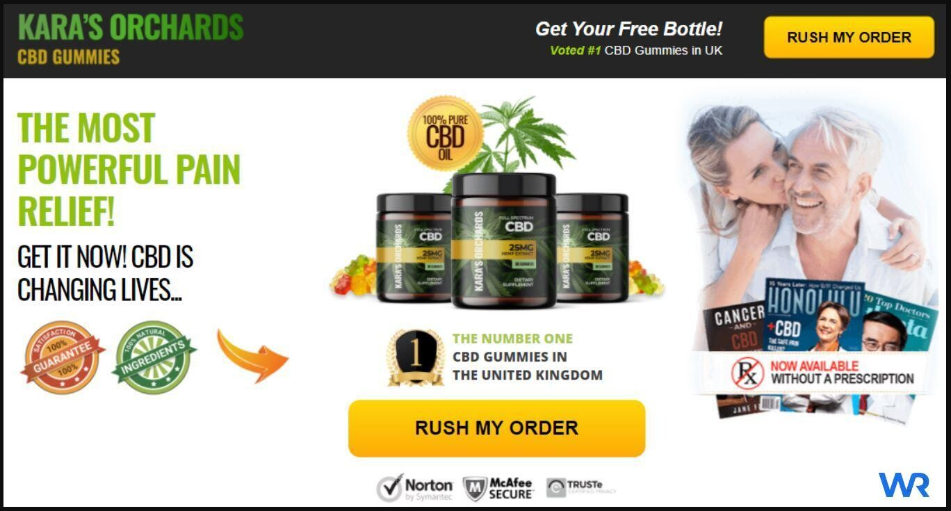 Karas Orchards CBD Gummies UK Special Offer For Purchase!