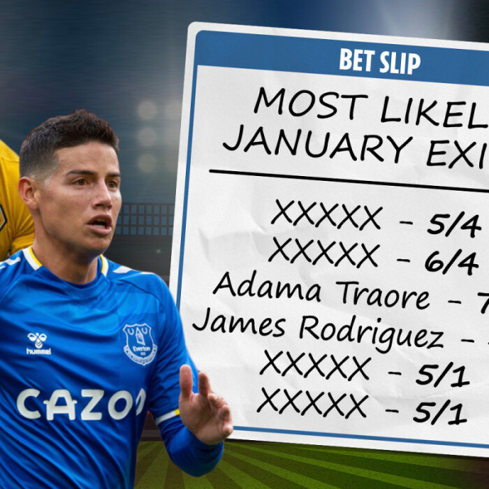 Bookies reveal full list of most likely January transfers after failed deadline day deals