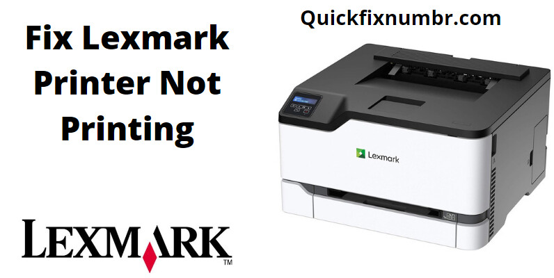 Troubleshoot Lexmark Printer Not Printing Issue