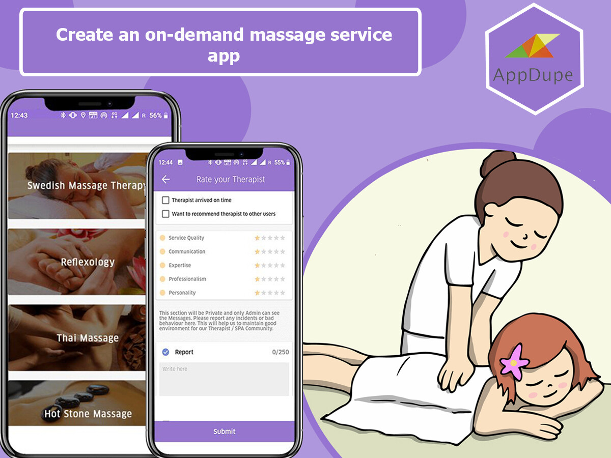 Become the next big thing in personal care services via an Uber for Massage app