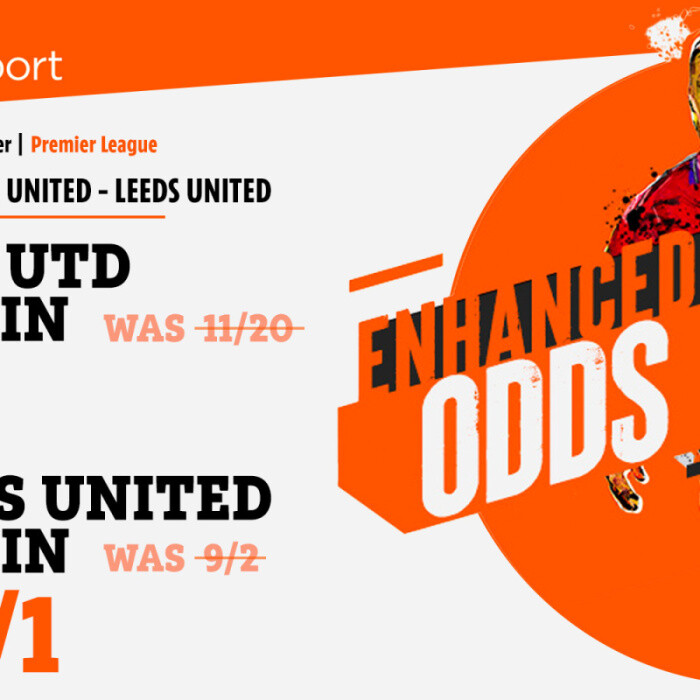 Man Utd vs Leeds – Get Leeds at 40/1 or Red Devils at 7/1 to win Premier League opener with 888 Sport