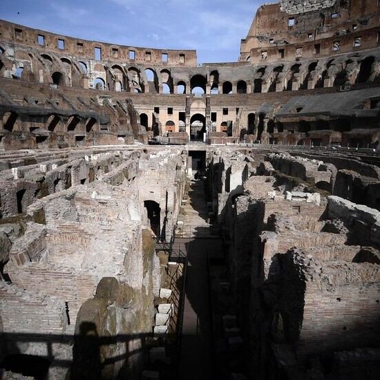 Colosseum Opens Its Belly to the Public