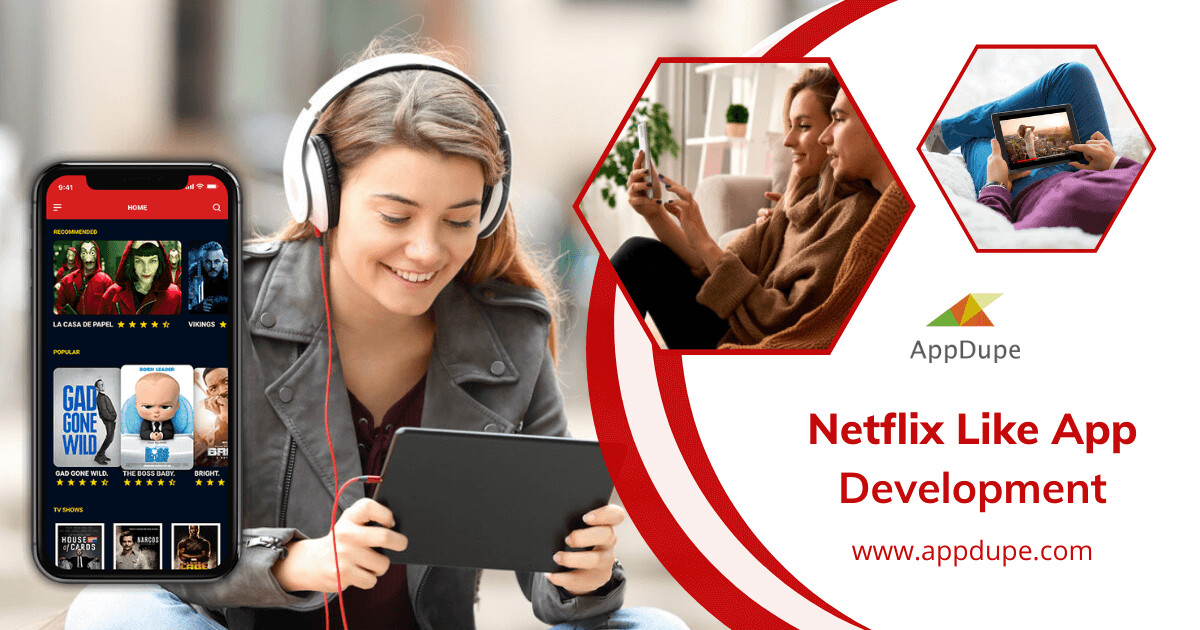 The Netflix Clone App Helps the Entrepreneur to Grab a Large User Base Guickly