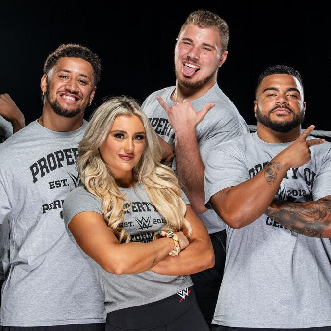 WWE sign younger brother of SmackDown tag team champions The Usos and son of Attitude Era star Bull Buchanan