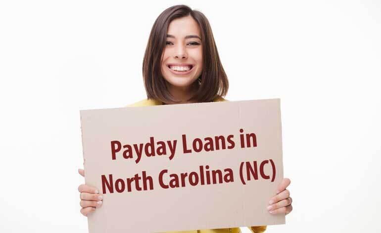 Payday Loans in North Carolina (NC) - Easy Qualify Money