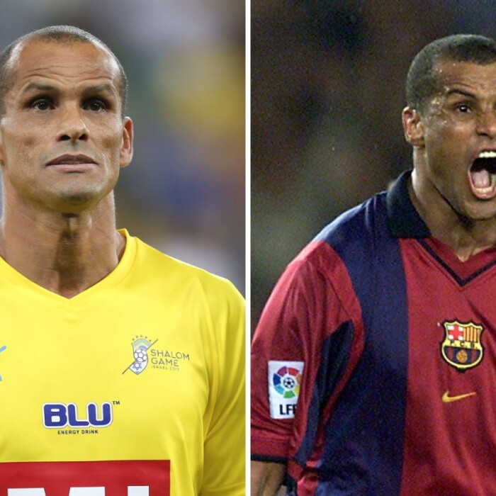 What does Rivaldo do now and which clubs did Soccer Aid star and former Brazil striker play for?