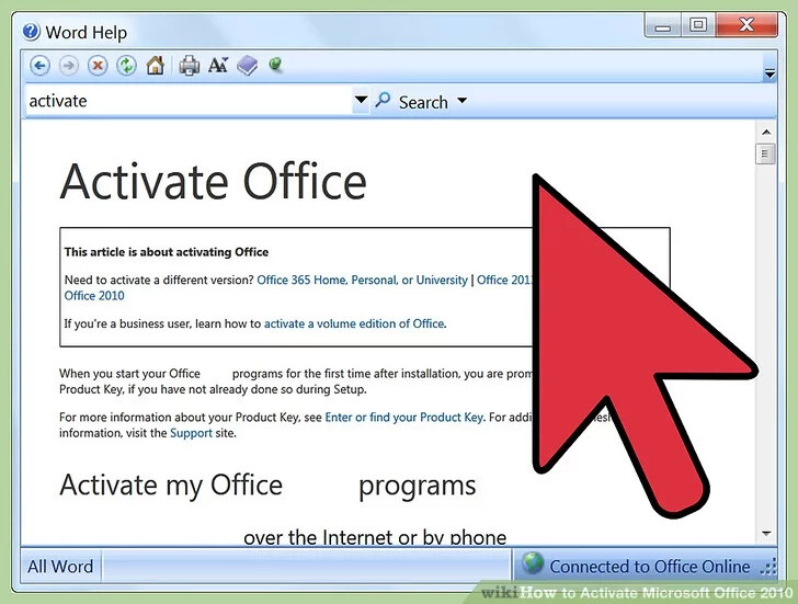 Microsoft Office is Not Activated, What To Do?