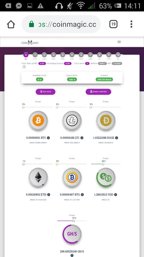 earn money automaticly with coin magic