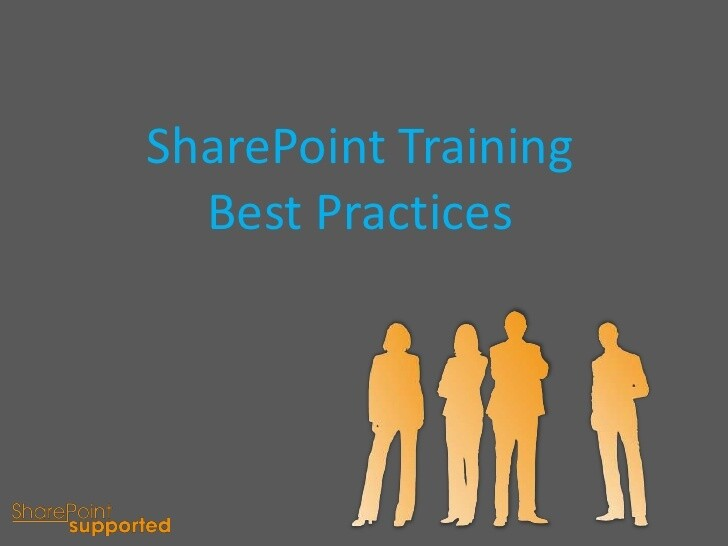 What is SharePoint training?