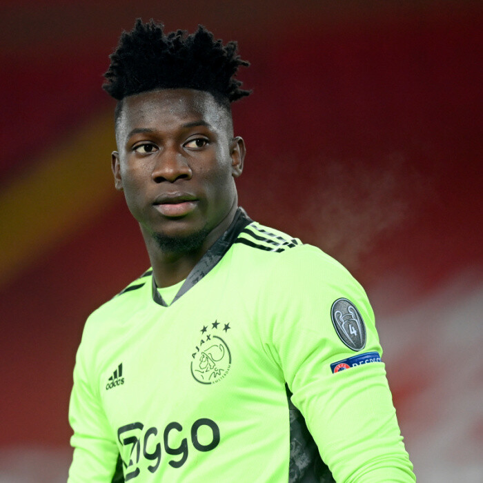 Arsenal transfer target Andre Onana 'rejects new contract offer from Ajax and is in advanced talks over Inter switch'
