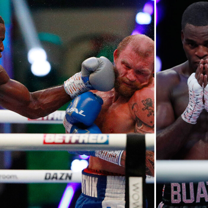 Joshua Buatsi batters Ricards Bolotniks with brutal 11th-round KO to move one step closer to world title fight