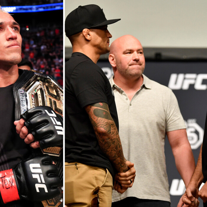 UFC star Dustin Poirier calls out champion Charles Oliveira and rival Nate Diaz after Conor McGregor trilogy win