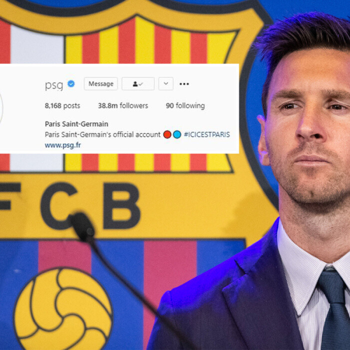 Lionel Messi already boosting PSG's profile ahead of transfer as club gain 1.4m new Instagram followers in THREE DAYS
