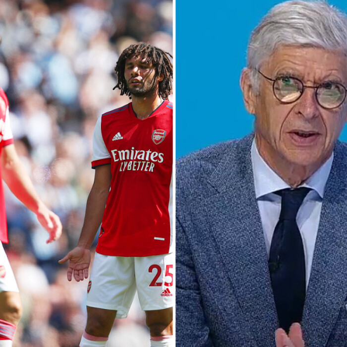 Arsene Wenger sees positives in Arsenal's woeful start to the season as he insists club is in 'good shape'