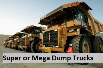 Get the Best Super or Mega Dump Trucks