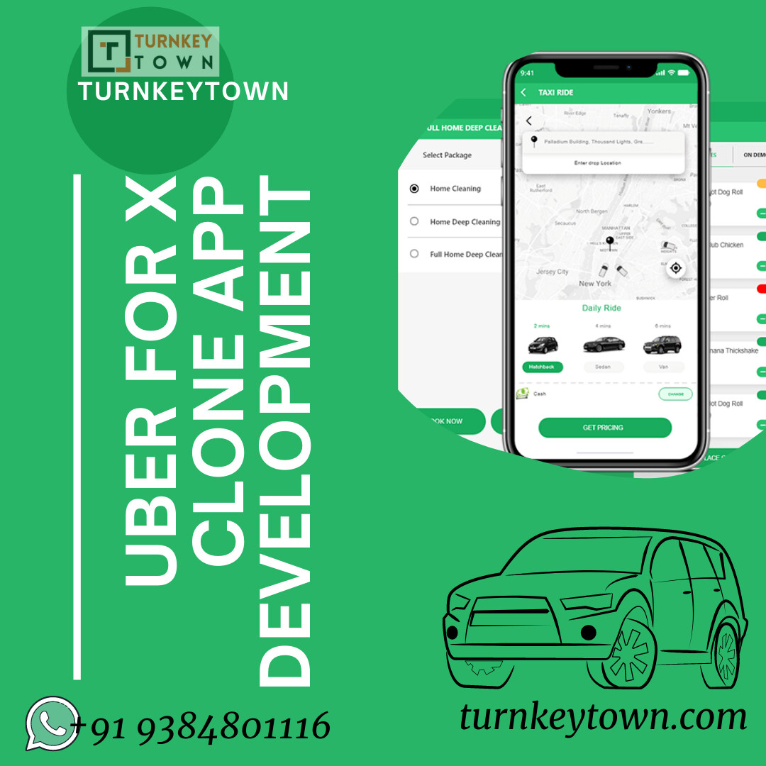 Make Money on On demand services with Uber for X clone script