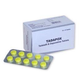 Buy tadapox 80mg tablets| Tadalafil 20mg and dapoxetine 60mg