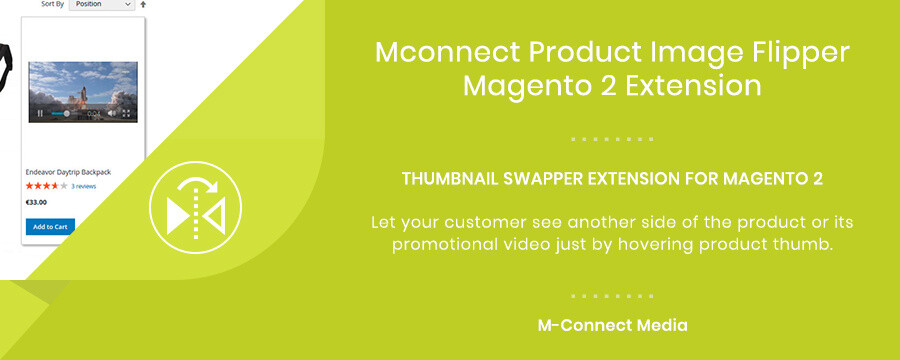 Mconnect Product Image Flipper Extension for Magento 2