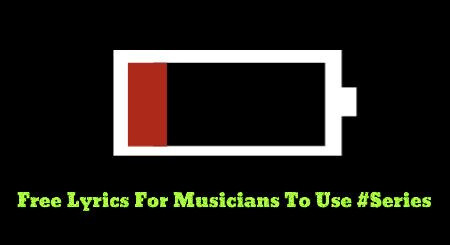 (FREE) Lyrics To Use For Your Next Song #Series (PART ONE!)