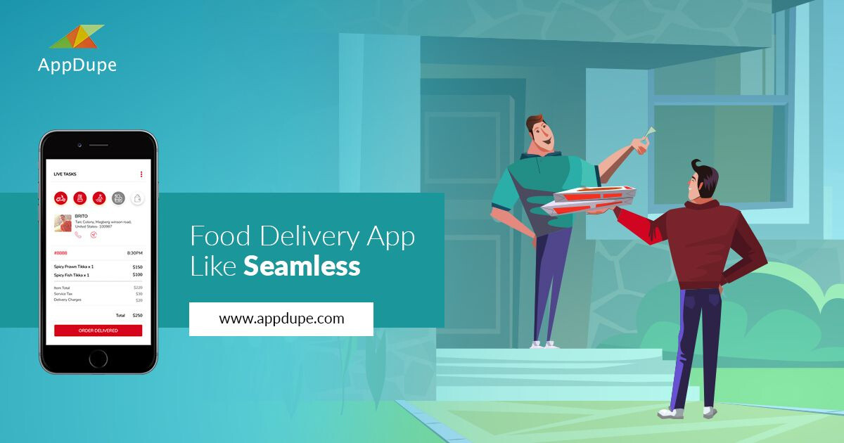 Online food ordering script: Methods involved in developing food delivery apps.