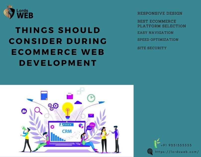 Tings should consider during ecommerce web development