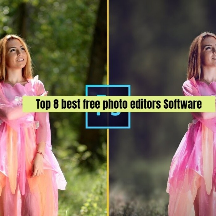 Top 8 best free photo editors Software