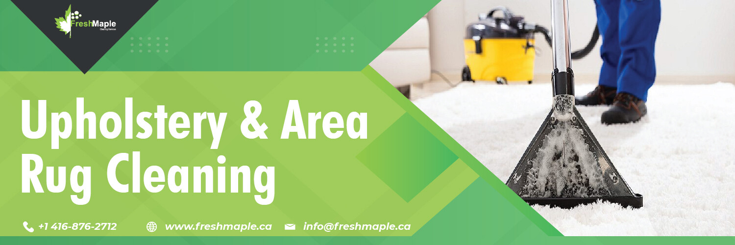 Upholstery & Area Rug Cleaning by Fresh Maple