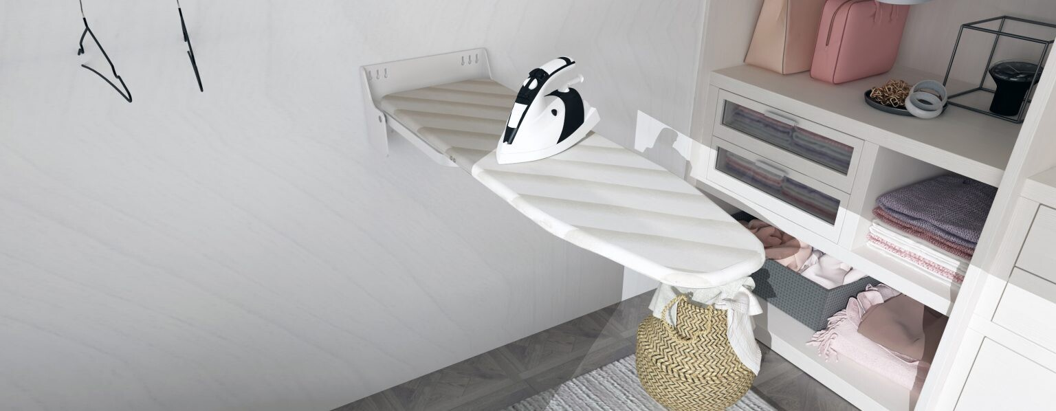 How to Install an In-Wall Ironing Board?