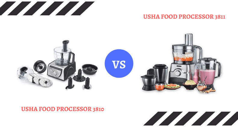 Which is Better USHA Food Processor 3810 Vs 3811 - My Techie Talk