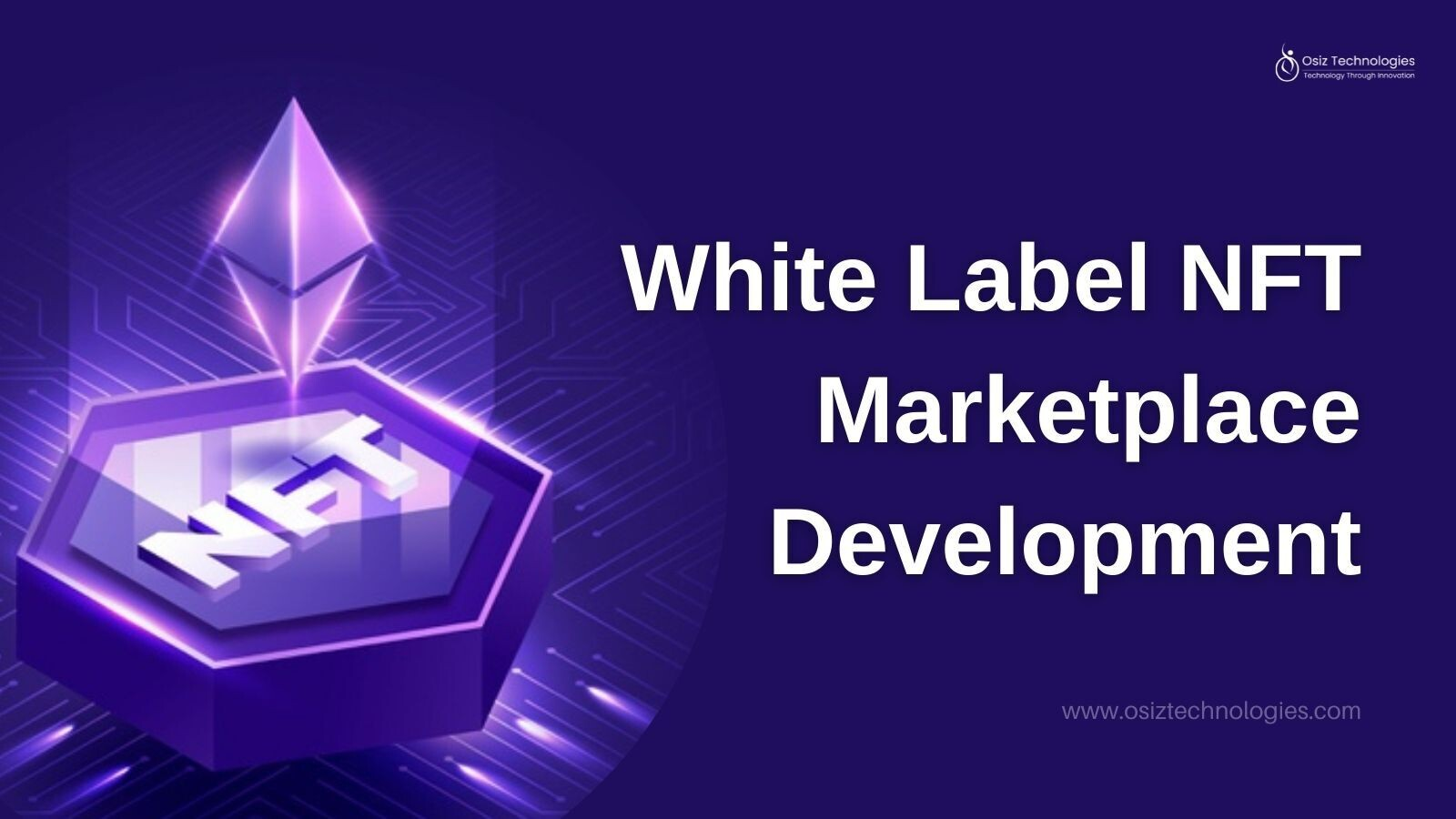 What are the business benefits of the White Label NFT marketplace Solution?