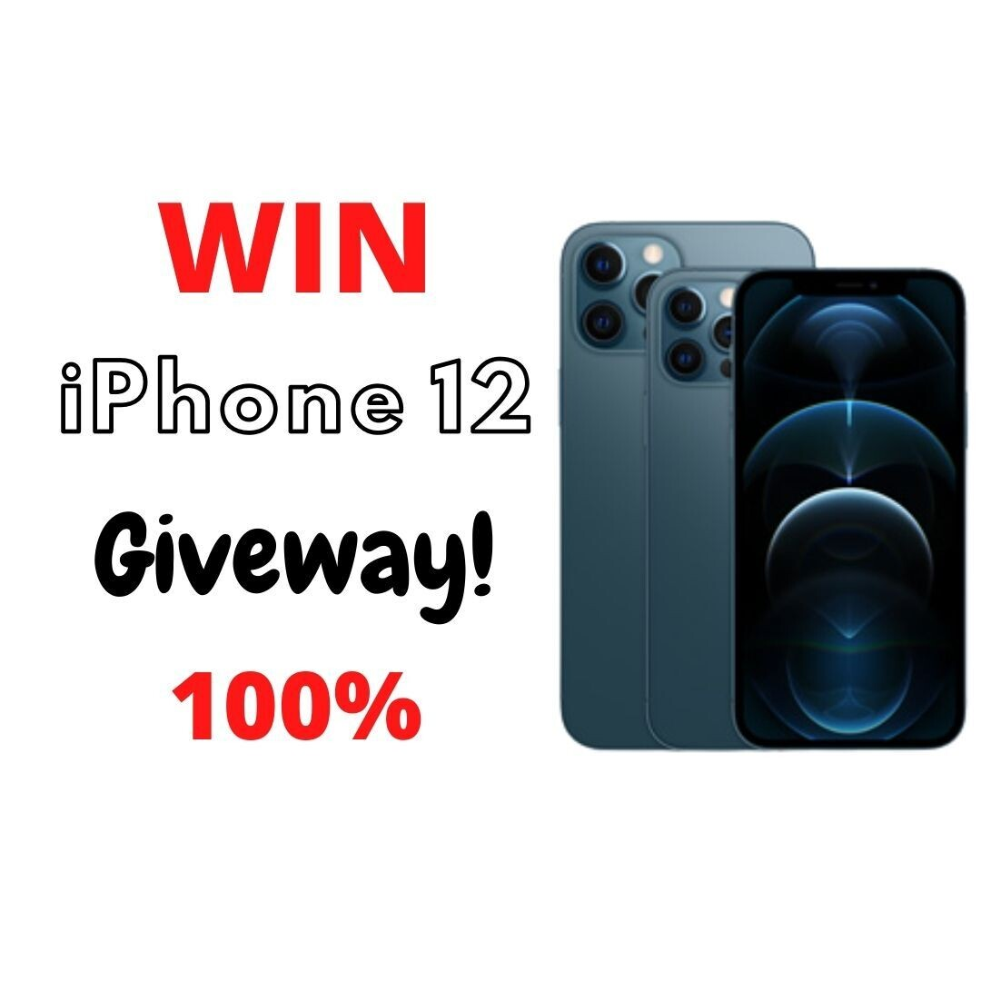 Apple iPhone 12 Pro Max Giveaway 2021