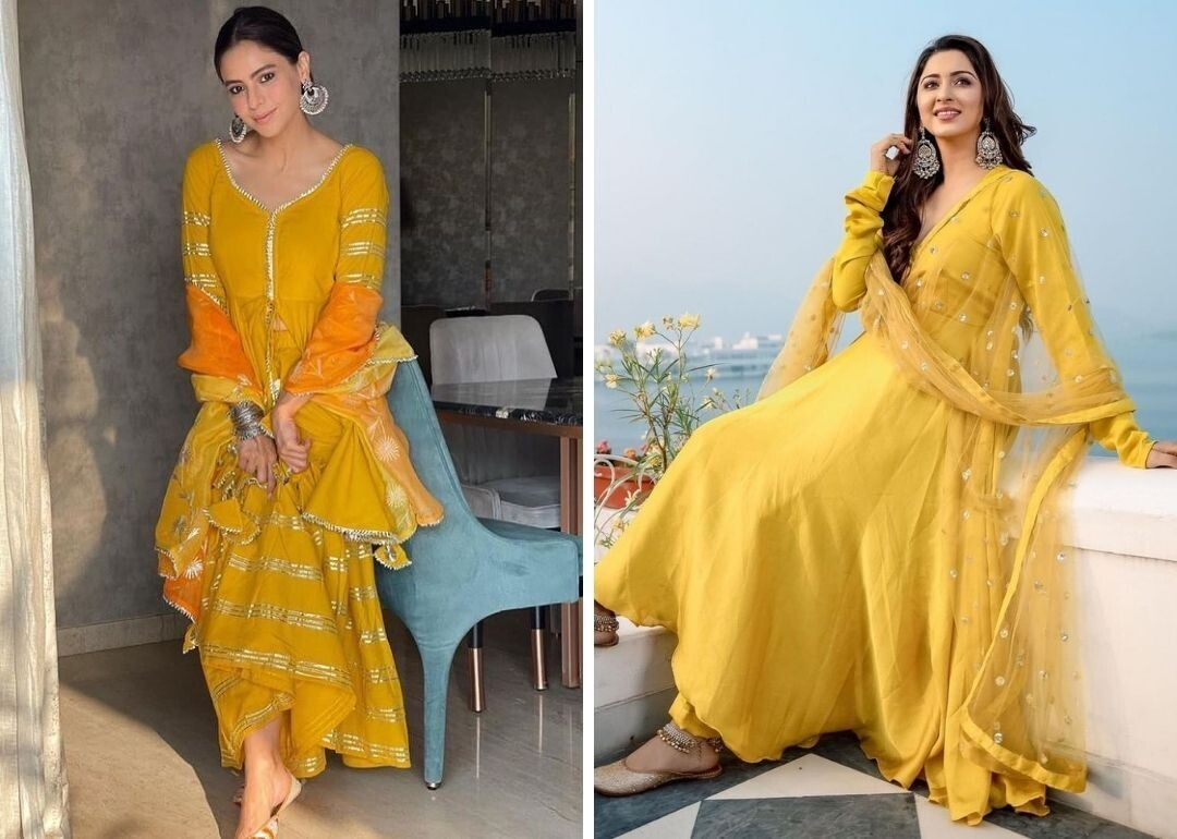 Where To Buy Yellow Suits For Haldi Function