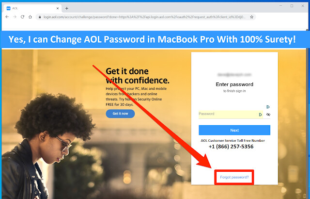 Yes, I can Change AOL Password in MacBook Pro With 100% Surety!